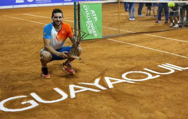 Argentino Andreozzi Campeón en Guayaquil